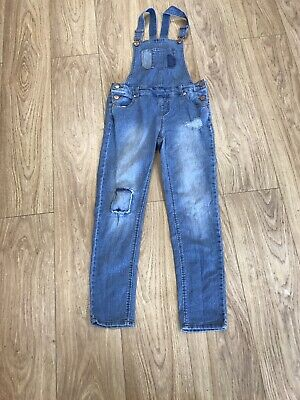 Girls Dungarees Age 13-14 Years Cherokee Blue D16 • 9.99£