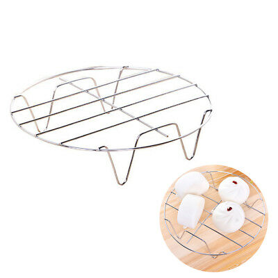 Stainless Steel Cooling Rack Round Baking Food Kitchen Pressure Cooker Tool EOWI • 3.91£