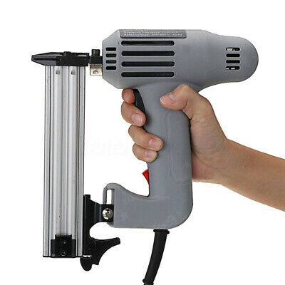 1800W Electric Heavy-Duty Straight Nail Gun + 2 Wrenchs Woodworking Hand   !  • 39.80£