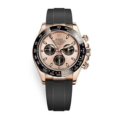 $ CDN44802.73 • Buy Rolex Cosmograph Daytona 18K Rose Gold Pink & Black Dial Mens Watch 116515LN