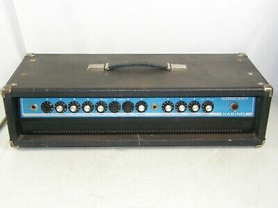 $ CDN157.32 • Buy Kustom Kasino Concert Guitar/Bass Amplifier Head Mod. CON-L
