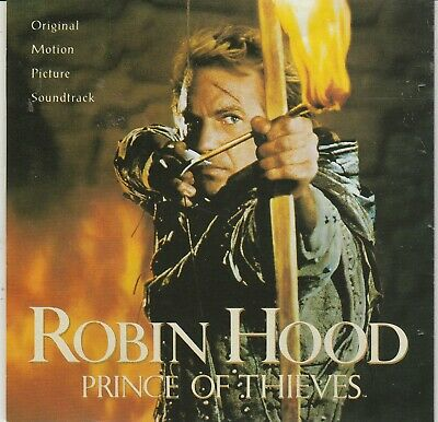 Robin Hood: Prince Of Thieves Soundtrack CD • 4.95£