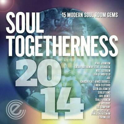 SOUL TOGETHERNESS 2014 Various Artists NEW & SEALED MODERN SOUL CD (EXPANSION) • 13.99£