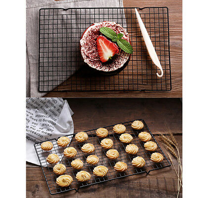 1pc Non-stick Cake Cooling Rack Net Cookies Bread Drying Stand Cooler Ho@ EJ • 6.76£