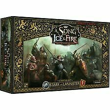£126.99 • Buy Stark Vs Lannister Starter Set A Song Of Ice And Fire Miniature Game New