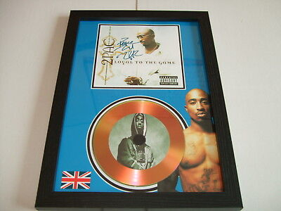 2 Pac    Signed  Gold Cd  Disc  • 19.98£