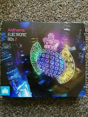 £4.25 • Buy Ministry Of Sound - Electronic 80s Anthems 2 (3 CD SET) 2010.