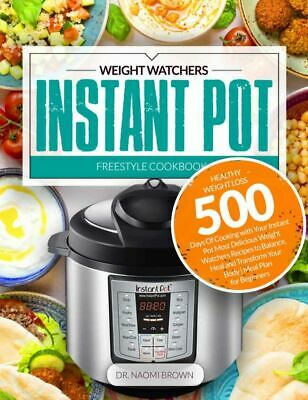 $1.99 • Buy 500 Weight Watchers Instant Pot Freestyle Cookbook For Weight Loss [(P.D.F)]