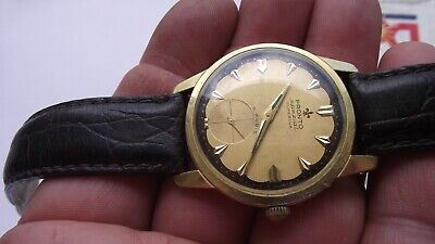 $ CDN471.17 • Buy VINTAGE PRONTO SPEZIAL WATCH 19 JEWELS / AS-1130  Men's GOLD PLATED  RARE!