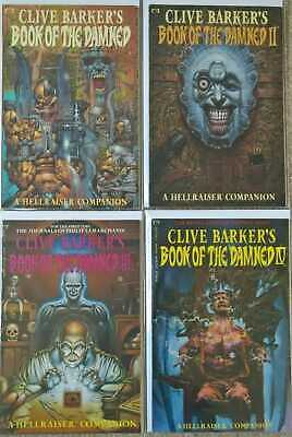 Clive Barker's Book Of The Damned: A Hellraiser Companion #1-4 Complete Set (... • 79.95£