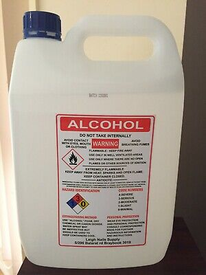 AU60 • Buy Isopropyl Alcohol 100% 5L.