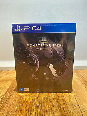 AU400 • Buy PS4 Monster Hunter Collector's Edition - Sealed