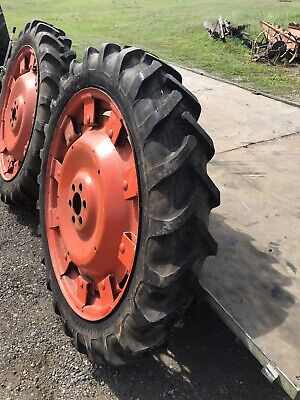 "Fordson E27N Major Tractor Narrow Rear Wheels 36"" New Alliance Tyres Ford 10 Lug • 650£"