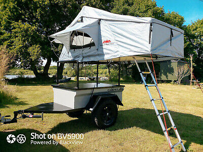 Overland Expedition Camping Trailer, Roof Top Tent, 4x4, Jeep, Land Rover  • 6,950£