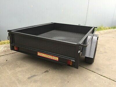 AU899.50 • Buy Box Trailer  LED 7X4FT H Duty ALSO 7x5 8x4 8x5 9x5 10x5 AVAILABLE MADE TO ORDER