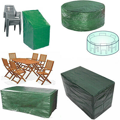 Heavy Duty Garden Patio Furniture Table Cover For Rattan Table Cube Set Outdoor • 9.89£