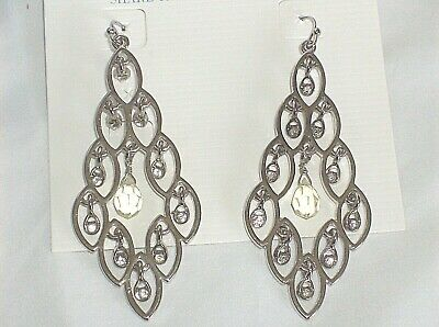$ CDN13.37 • Buy Lia Sophia  MOONLIGHT WALTZ  Chandelier Earrings, NWT