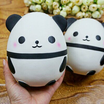 AU12.39 • Buy 1pc Jumbo Panda Slow Rising Squeeze Toys Stress Reliever Gift For Adult Children