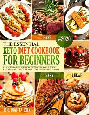 $1.99 • Buy The Essential Keto Diet Cookbook For Beginners 2020  Easy & Cheap  [(P.D.F)]