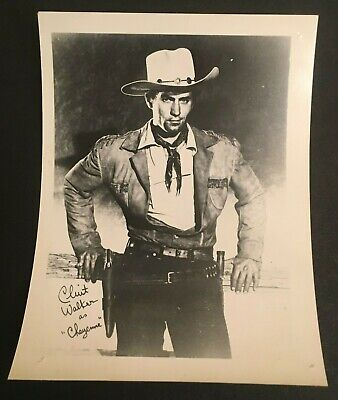 $16 • Buy  Clint Walker Photo Of Actor As  Cheyenne  Approx. 4  X 5  Celebrity Promo