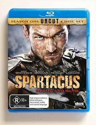 £12.28 • Buy SPARTACUS: BLOOD AND SAND (Andy Whitfield, Lucy Lawless)  NEW 4 BLURAYS