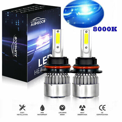 $19.99 • Buy Parts Accessories Fit For Ford 8000K 9007 LED Headlight Hi/Low Beam Bulbs Kit
