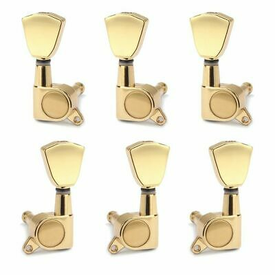 $ CDN18.82 • Buy Electric Guitar Tuning Pegs Retro Keys Machine Heads Tuners For Les Paul 3x3 Set