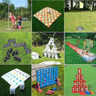 Gr8 Garden Giant Games Outdoor Activity Beach BBQ Childrens Kids Family Party • 11.99£