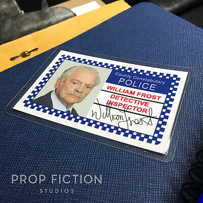 £4.65 • Buy A Touch Of Frost - DI Frost Prop Police Warrant Card / Cosplay Wallet ID Card