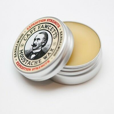 Captain Fawcett's Expedition Strength Moustache Wax - Shipping From UK • 10.90£
