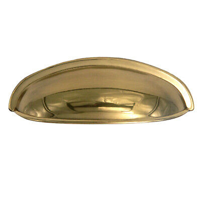 $10.65 • Buy Sherwood Antique 3 Cc Keeler Power & Beauty Solid Brass K107 Cabinet Cup Pull