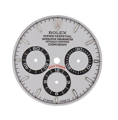 $ CDN396.44 • Buy Rolex Refined Custom Made White Daytona Dial Only For Zenith Models