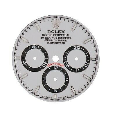 $ CDN382.77 • Buy Rolex Refined Custom Made White Daytona Dial Only For Zenith Models