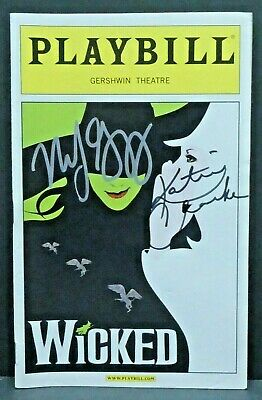 Wicked Cast Hand Signed Autographed Playbill • 66.85£