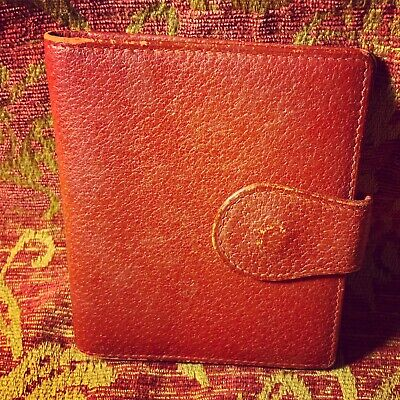 $115 • Buy A Cool Vintage Gucci Red Leather Small ID Wallet