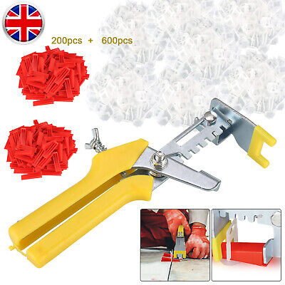 801Pcs/Set Floor Wall Tile Leveling Spacer System Tool Wedges Pliers Tiling Kit • 17.99£