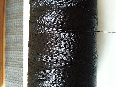 £4.45 • Buy 100mtrs. Whipping Thread Extra Strong Nylon  BLACK