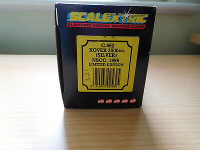 Scalextric C562 Rover 3500 SILVER NSCC 1996 Ltd Edition. Never Used. Rare. • 79.95£