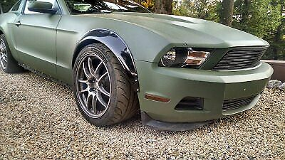 $ CDN221.34 • Buy 4x Fender Flares For Ford Mustang S197 Shelby Wide Body Arch Extensions 3.5