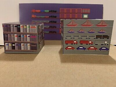 $ CDN20.04 • Buy HO Scale Hobby Toy Store Building Interior Detail Model Train Scenery Sheets