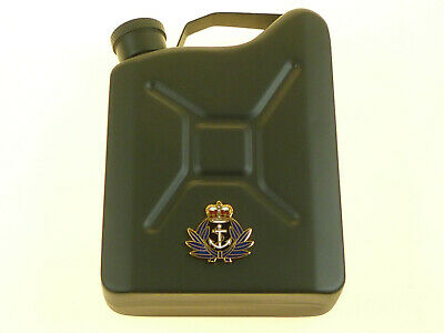 WRNS Womens Royal Naval Service Deluxe Ltd Edit Badged Jerry Can Hip Flask • 14.99£