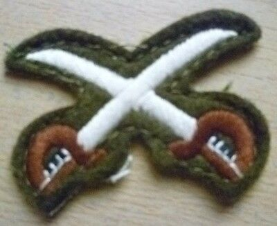 Patch- Crossed Swords / Physical Training Instructor Patch/ Cloth Badge; New* • 9.99£