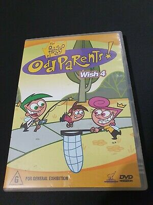 The Fairly Odd Parents DVD Wish 4 Four - FREE POSTAGE!!! • 6.46£