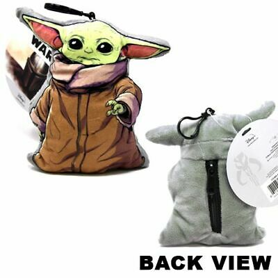 $13.99 • Buy Star Wars  The Child  Baby Yoda 3D Shaped 4  Inches Plush Key Chain New Tags