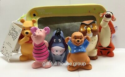 £14.45 • Buy Disney Winnie The Pooh And Pals Bath Toy Set For Baby