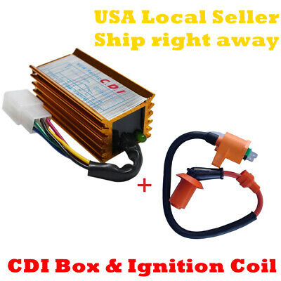 $16.99 • Buy Racing Ignition Coil CDI Box For GY6 50cc-125cc 150cc Scooter ATV Moped
