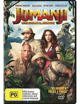 AU8.95 • Buy Jumanji: Welcome To The Jungle (DVD, 2017)