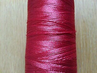 £4.25 • Buy 100mtrs. Whipping Thread Extra Strong Nylon  RED