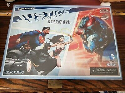 Justice League Strategy Game Brand New And Sealed (Heroclix & Board Game) • 27£
