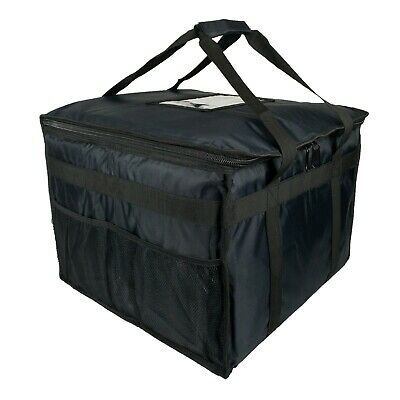 Hot Food Pizza Takeaway Restaurant Delivery Bag Thermal Insulated 45x45x35cm • 32.95£